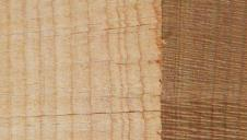 A sample of band sawn Douglas fir.