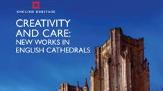The cover of 'Creativity and Care', by English Heritage.